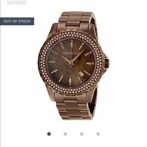 Michael Kors rose gold/brownish watch (MK-5640)
